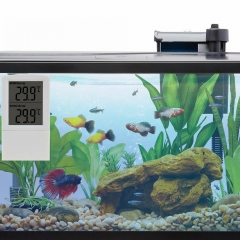 Electronic Digital Aquarium Thermometer with Fahrenheit & Centigrade