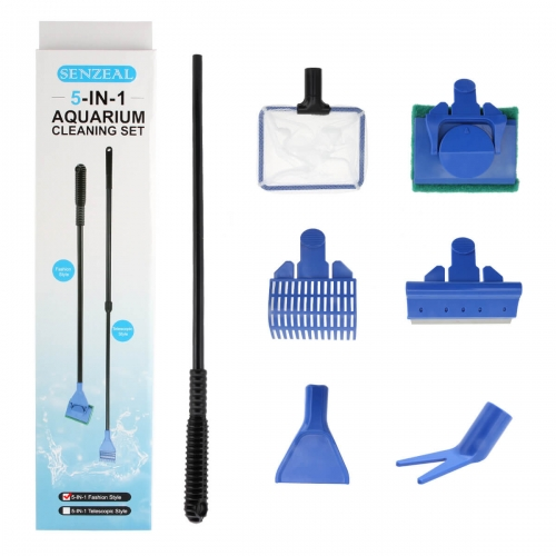 5-in-1 Fish Tank Cleaning Kit