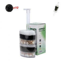 Multi-Layer Corner Aquarium Media Filter