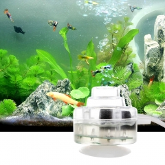 Mini LED Aquarium Bubble Light with Air Stone