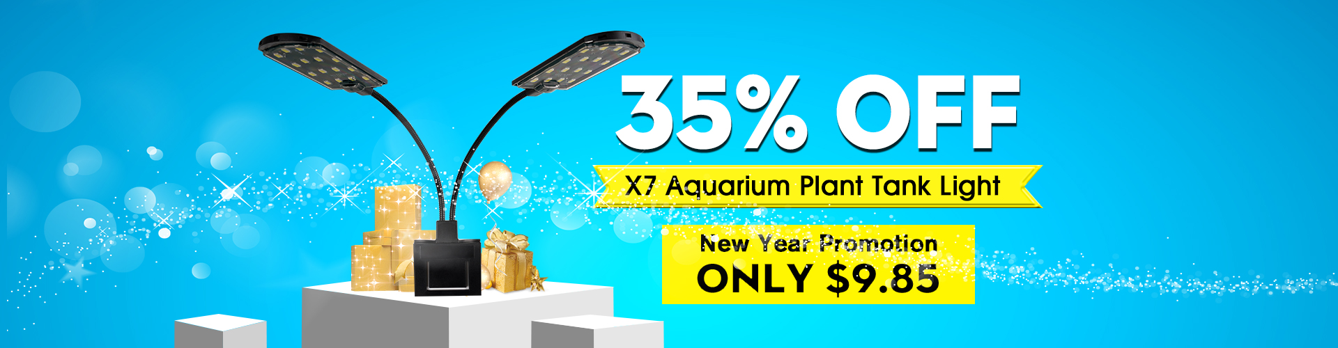 X7 Aquarium Plant Tank Light