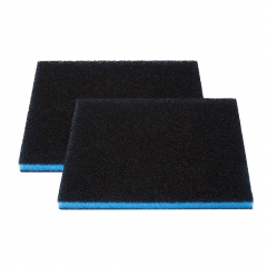 Aquarium Filter Activated Carbon Sponge 2pcs