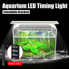 Aquarium LED Timing Light with Extendable Brackets 10W/19W